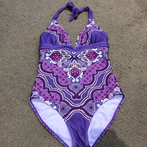 PRANA size Small One Pc Swimsuit